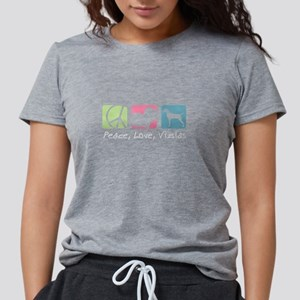 Peace, Love, Vizslas T-Shirt